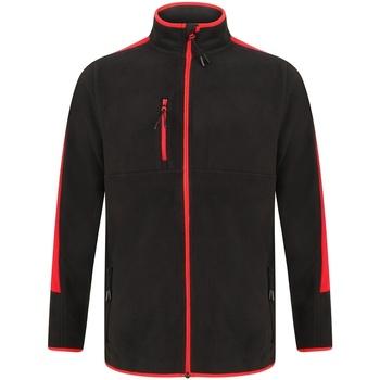 textil Fleecetrøjer Finden & Hales LV580 Black/Red