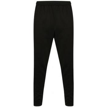 textil Herre Træningsbukser Finden & Hales  Black/Gunmetal Grey