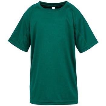 textil Børn T-shirts m. korte ærmer Spiro SR287B Bottle