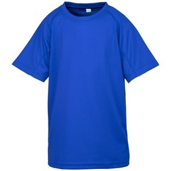 textil Børn T-shirts m. korte ærmer Spiro SR287B Royal