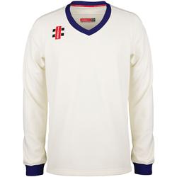 textil Børn Sweatshirts Gray-Nicolls GN29J Ivory/Navy