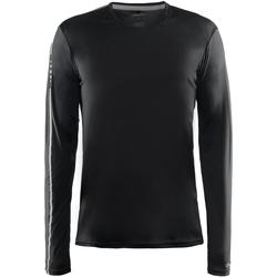 textil Herre Langærmede T-shirts Craft CT089 Black