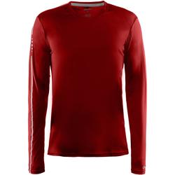 textil Herre Langærmede T-shirts Craft CT089 Red