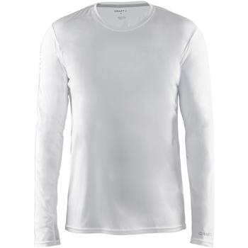 textil Herre Langærmede T-shirts Craft CT089 White