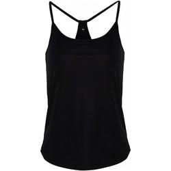 textil Dame Toppe / T-shirts uden ærmer Tridri TR043 Black