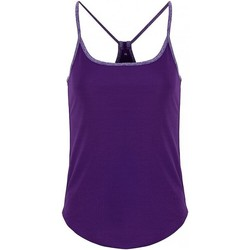 textil Dame Toppe / Bluser Tridri TR043 Bright Purple/Purple Melange