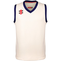 textil Børn Toppe / T-shirts uden ærmer Gray-Nicolls GN28J Ivory/Navy