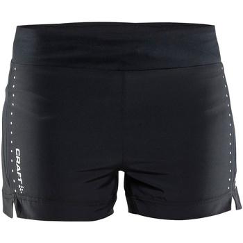 textil Dame Shorts Craft CT56F Black