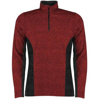 textil Herre Langærmede T-shirts Rhino RH013 Red/Black