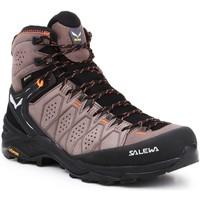 Sko Herre Vandresko Salewa MS Alp Trainer 2 Mid GTX 61382-7512 black, brown