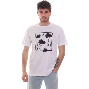 textil Herre T-shirts m. korte ærmer Sseinse TE1818SS hvid
