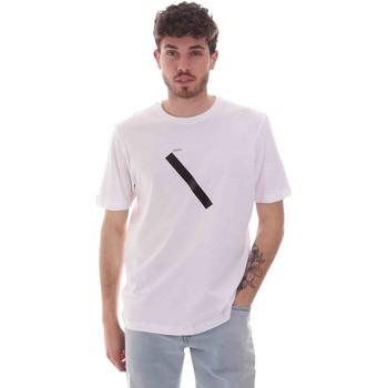 textil Herre T-shirts m. korte ærmer Sseinse TE1820SS hvid