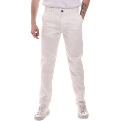 textil Herre Chinos / Gulerodsbukser Sseinse PSE699SS hvid