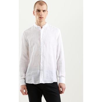 textil Herre Skjorter m. lange ærmer Refrigiwear RM0C10100LI9110 hvid
