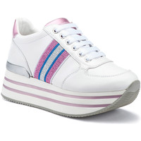 Sko Dame Lave sneakers Lumberjack SW58111 002EU X91 hvid