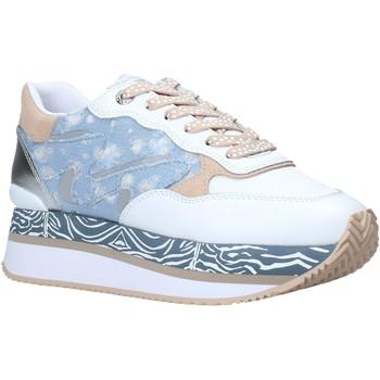 Sko Dame Lave sneakers Manila Grace S659LM hvid