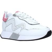 Sko Dame Lave sneakers Manila Grace S673LU hvid