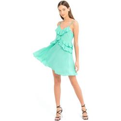 textil Dame Korte kjoler Fracomina FS21SD1008W42201 Grøn