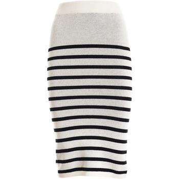 textil Dame Nederdele Fracomina F321SG2001K45501 hvid