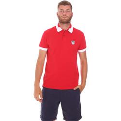 textil Herre Polo-t-shirts m. korte ærmer Ea7 Emporio Armani 3KPF07 PJ04Z Rød