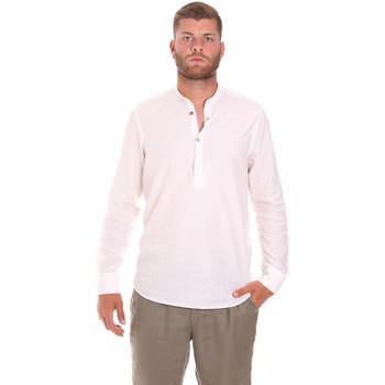 textil Herre Skjorter m. lange ærmer Sseinse CE611SS hvid