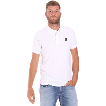 textil Herre Polo-t-shirts m. korte ærmer Refrigiwear RM0T25900PQ9002 hvid