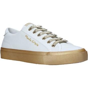 Sko Dame Lave sneakers Manila Grace S634CU hvid