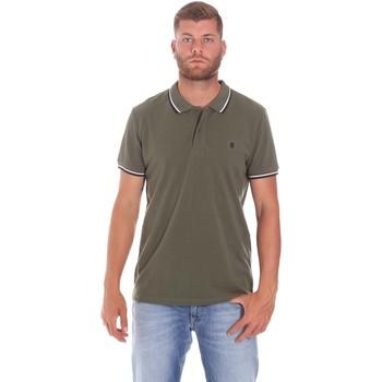textil Herre Polo-t-shirts m. korte ærmer Lumberjack CM45940 016EU Grøn
