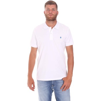 textil Herre Polo-t-shirts m. korte ærmer Lumberjack CM45940 015EU 506 hvid