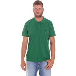 textil Herre Polo-t-shirts m. korte ærmer Lumberjack CM45940 015EU 506 Grøn