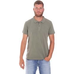 textil Herre Polo-t-shirts m. korte ærmer Lumberjack CM45940 017EU Grøn