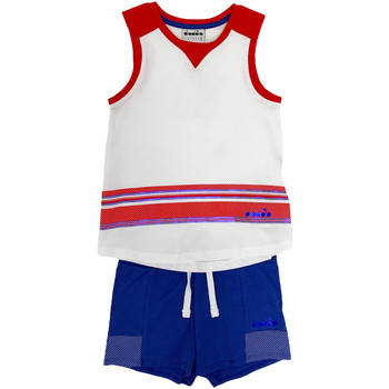 textil Børn Sæt Diadora 102175915 hvid
