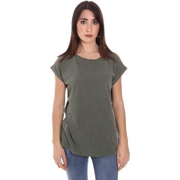 textil Herre T-shirts m. korte ærmer Lumberjack CW60343 011EU Grøn