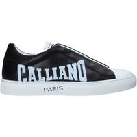 Sko Herre Lave sneakers John Galliano 11007/CP B Sort