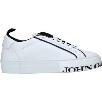 Sko Herre Lave sneakers John Galliano 11012/CP C hvid