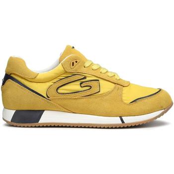 Sko Herre Sneakers Alberto Guardiani AGM003513 Gul