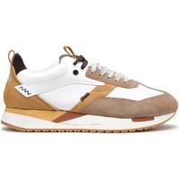 Sko Herre Lave sneakers Alberto Guardiani AGU101061 hvid