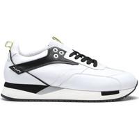 Sko Herre Lave sneakers Alberto Guardiani AGU101155 hvid