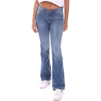 textil Dame Lige jeans Gaudi 111BD26014L30 Blå