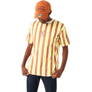 textil Herre T-shirts m. korte ærmer New-Era 12720144 Brun