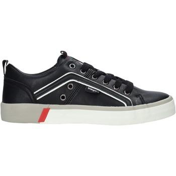 Sko Herre Lave sneakers Wrangler WM01033A Sort