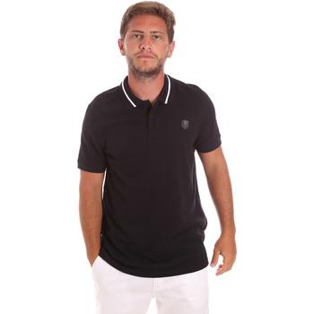 textil Herre Polo-t-shirts m. korte ærmer Roberto Cavalli FST693 Sort