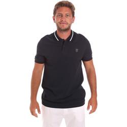 textil Herre Polo-t-shirts m. korte ærmer Roberto Cavalli FST693 Blå