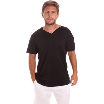 textil Herre T-shirts m. korte ærmer Colmar 7521 6SS Sort