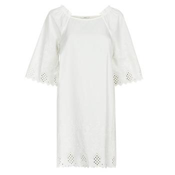 textil Dame Korte kjoler Only ONLLILLO Hvid