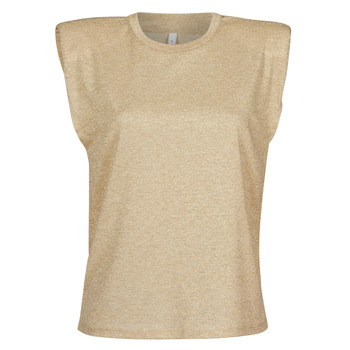 textil Dame Toppe / Bluser Only ONLSILVERY Beige