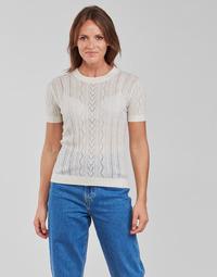 textil Dame Toppe / Bluser Betty London PAVARI Hvid