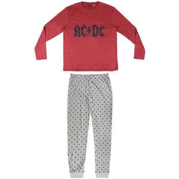 textil Herre Pyjamas / Natskjorte Ac/dc 2200004849 Rojo