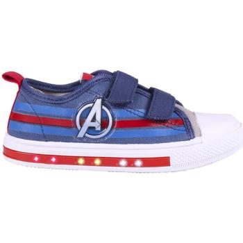Sko Dreng Lave sneakers Capitan America 2300004712 Azul