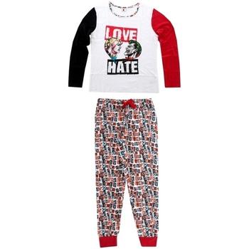 textil Dame Pyjamas / Natskjorte Joker 833-438 Blanco